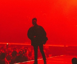 the weeknd and red image