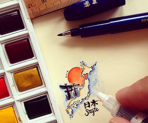 art, arte, and calligraphy image
