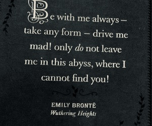 quotes, wuthering heights, and love image