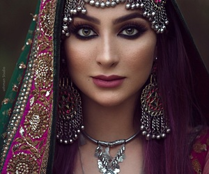 pakistani, traditional jewelry, and desi glam image