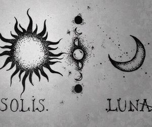 moon, sun, and luna image