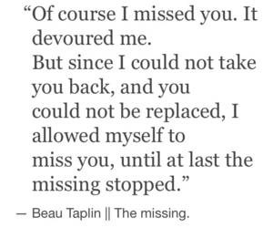 missing and beautaplin image