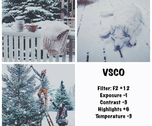 christmas, cold, and effect image