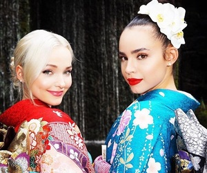 sofía carson, dove cameron, and disney image