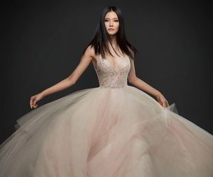 bridal, dresses, and wedding gown image