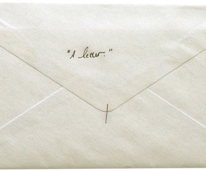 Letter, white, and vintage image