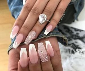 nails, design, and photo image