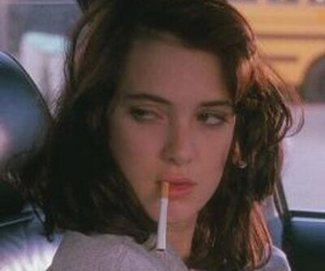 winona ryder, cigarette, and Heathers image