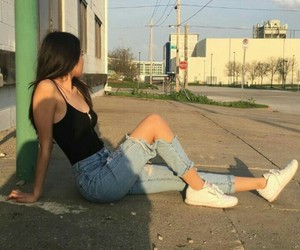 girl, style, and pretty image