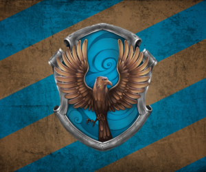 harry potter, magic, and ravenclaw image
