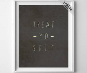 etsy, Typographic, and wall art image