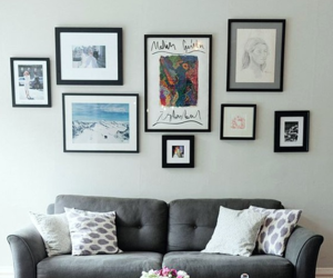 diy, gallery wall, and home decor image