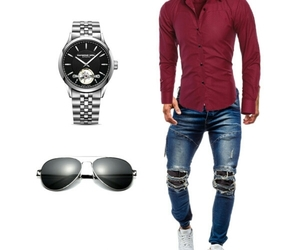 Polyvore, shades, and men fashion image