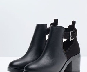 boots, fashion, and ankle boots image