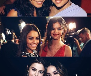selena gomez, vanessa hudgens, and friendship image