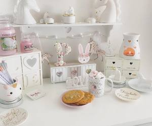 room decor, Cookies, and bunny cake image
