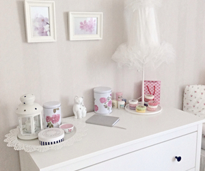 girly, room decor, and ikea image