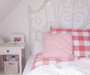 ikea, bed, and bedroom image