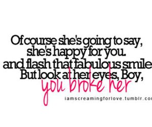 broken, girl, and quote image