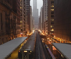 chicago, city life, and inspiration image
