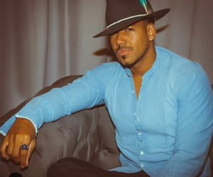 the king, romeo santos, and negro lindo image