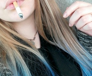bluehair, marlboro, and me image