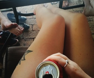 alcohol, drink, and girl image