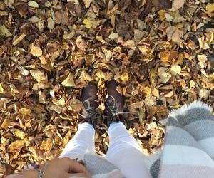 autumn, autumnfashion, and whitejeans image