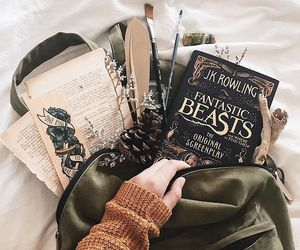 books, harry potter, and fantastic beasts image