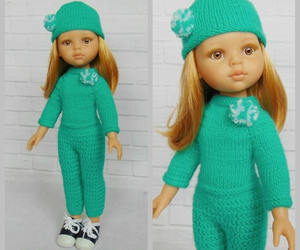 crochet, doll clothes, and etsy image