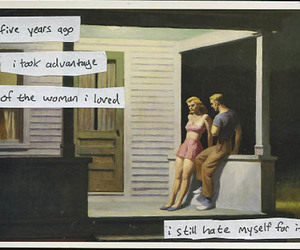 post secret, consent, and love image