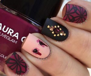 Halloween, ideas, and halloween nails image