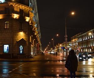 lights, nightlife, and rain image