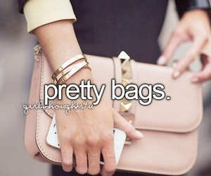 bag and girly thoughts image