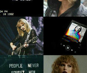 Collage, Reputation, and Taylor Swift image