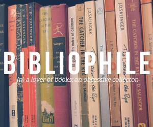 book, bibliophile, and words image