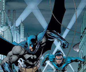batman, DC, and nightwing image