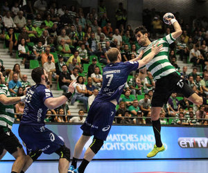 handball, sport, and champions league image