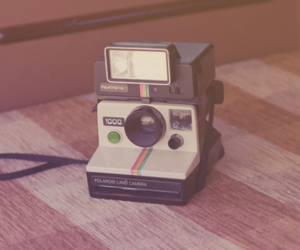 camera, photography, and polaroid image