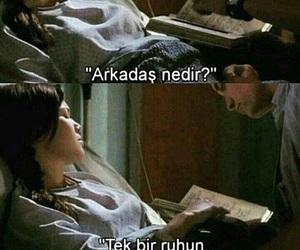 words, arkadaş, and replik image