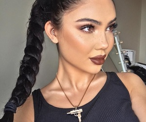 beauty, highlight, and style image
