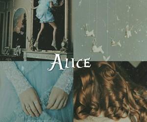 aesthetics, alice in wonderland, and wallpaper image