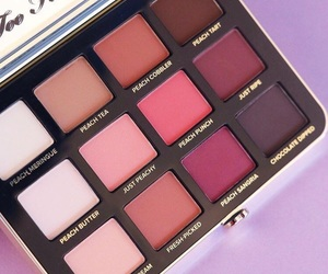 girl, makeup, and too faced image