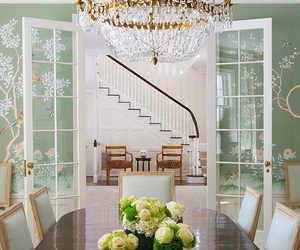 decoration, design, and dinning room image