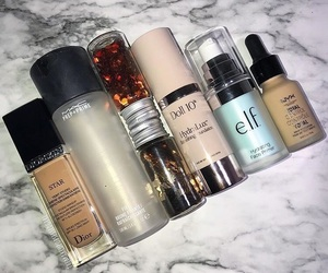 beauty, elf, and mac cosmetics image