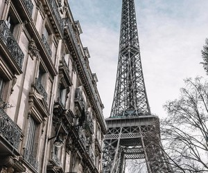 paris, photographie, and immeubles image
