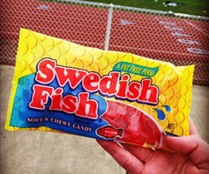 candy, red, and swedish image