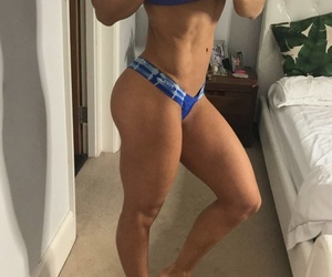 abby, abs, and exercise image