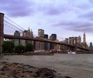 brooklyn bridge, gg, and new york image