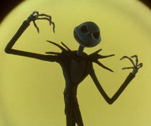 nightmare before christmas, Halloween, and jack image